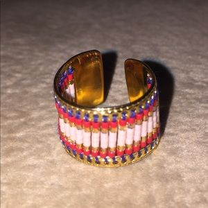 Jewelry - Hand-beaded Boho Ring -New - Boutique!